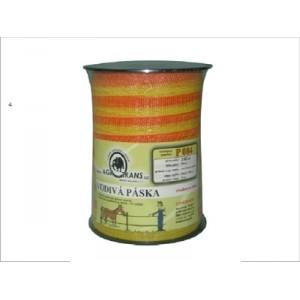 Vodivá páska 20mm 6vodičů 200m, žluto/oranžová