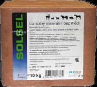 Solný liz minerální bez mědi 10kg
